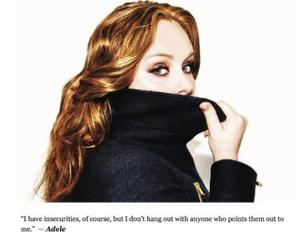 Adele and truth image