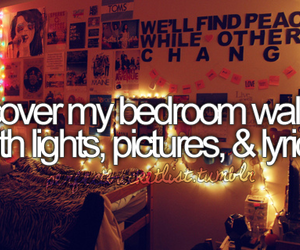 light, bedroom, and picture image