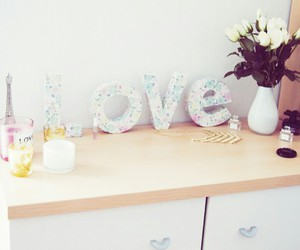 girly, interior, and room image