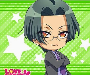 chibi, rei, and love stage image