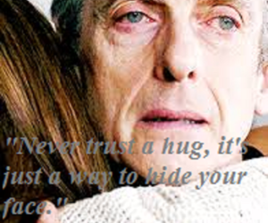 doctor who, goodbye, and hug image