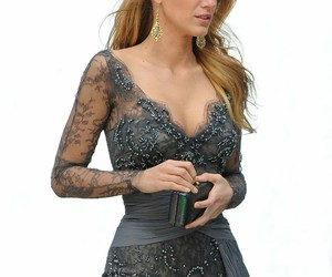 dress, blake lively, and gossip girl image