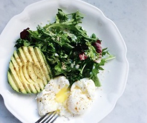 avocado, diet, and egg image