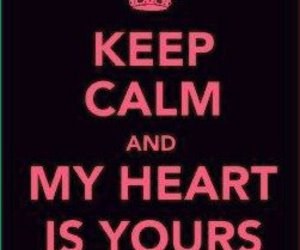 keep calm, my heart, and paramore image