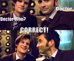 doctor who, david tennant, and funny image