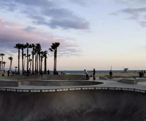 beach, la, and losangeles image