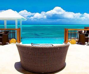 balcony, luxury, and blue sky image