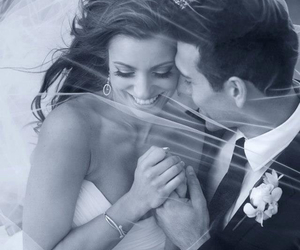 bride, happiness, and in love image