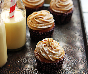 food, cupcakes, and dessert image