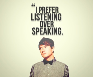 Adam Young, listening, and Owl City image