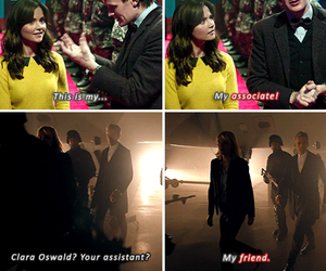 doctor who, 11th doctor, and clara oswald image