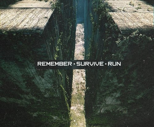 the maze runner, run, and survive image