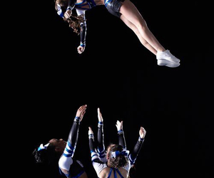 cheer, cheerleading, and basket image