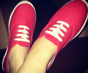 red, relax, and shoes image