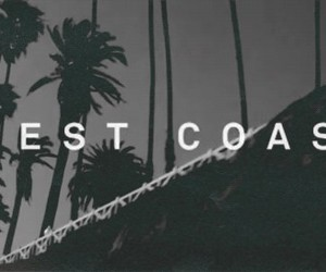 west coast, lana del rey, and black and white image