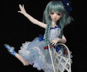 ballerina, dollmore, and msd image