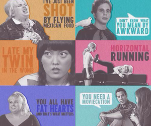 pitch perfect, fat amy, and quotes image