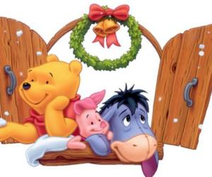 christmas, disney, and eeyore image