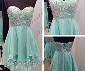 dress, homecoming, and formal image