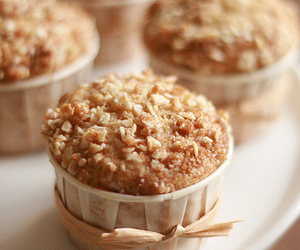 food, almond, and muffin image