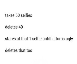 selfie and true image
