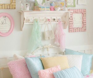 pastel, bedroom, and room image