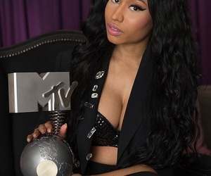 nicki minaj, mtv, and hair image