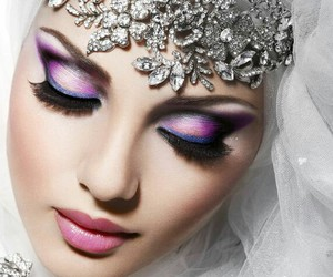 face, glam, and make up image