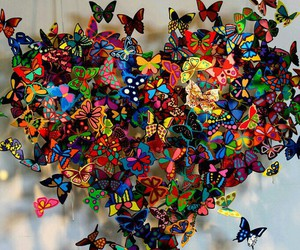 butterfly and heart image