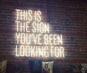 funny, lol, and neon sign image
