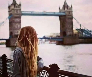 girl, london, and hair image