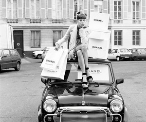 car, paris, and chanel image