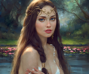 art, fantasy, and beauty image