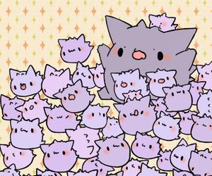 pokemon, gengar, and kawaii image