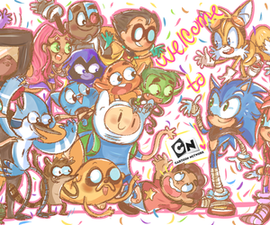 amy, cartoon network, and gumball image