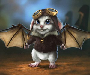 fantasy, mouse, and cute image