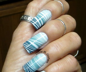 gradient, manicure, and nails image