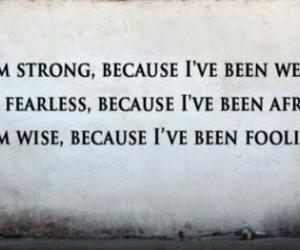 quote, strong, and wise image
