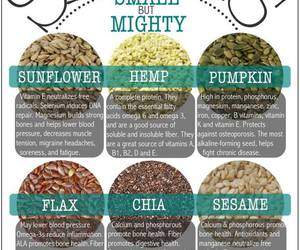 healthy, seeds, and food image