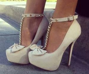 awesome, bow, and heels image