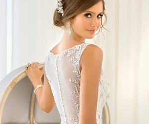 beautiful, bridal, and gowns image