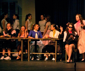 broadway, musical, and grease image