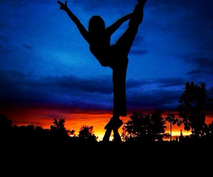 ballet, cheer, and gym image