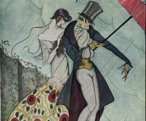 art, illustration, and top hat image
