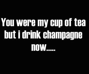 champagne and tea image