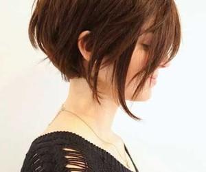 hair, short, and haircut image