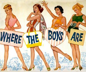 vintage, boys, and where the boys are image