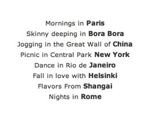 paris, rome, and new york image