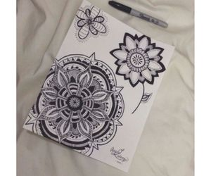 doodle, art, and diy image