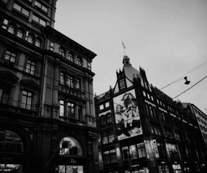 architecture, b&w, and city image
